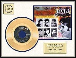 523: ELVIS PRESLEY ''Viva Las Vegas'' Gold Record with
