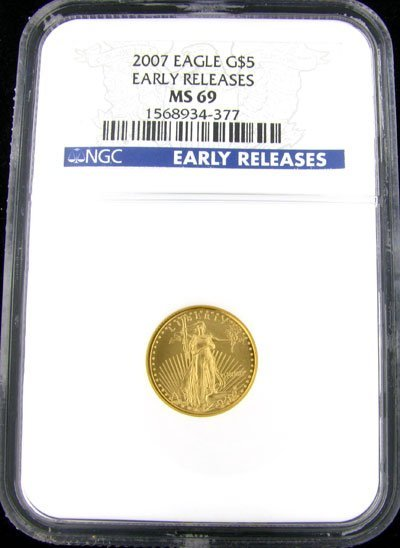 531: 2007 $5 US Eagle Gold Coin - Investment Potential
