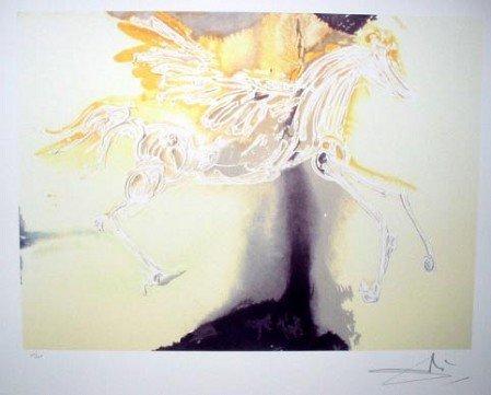 543: SALVADOR DALI Pegasus Print - Collect!