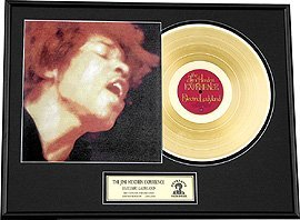2847: JIMI HENDRIX ''Electric Ladyland'' Gold Record -