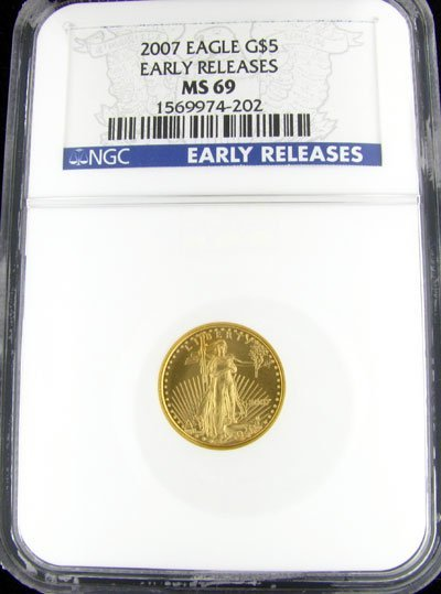 31: 2007 $5 US Eagle Gold Coin - Potential Investment