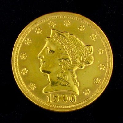 2026: 1900 $2.5 US Liberty Head Type Gold Coin - Invest