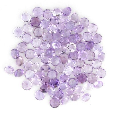 2530: 64.00CT Round Amethyst Parcel, Investment Gems