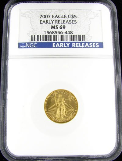 31: 2007 $5 US Eagle Gold Coin, Potential Investment