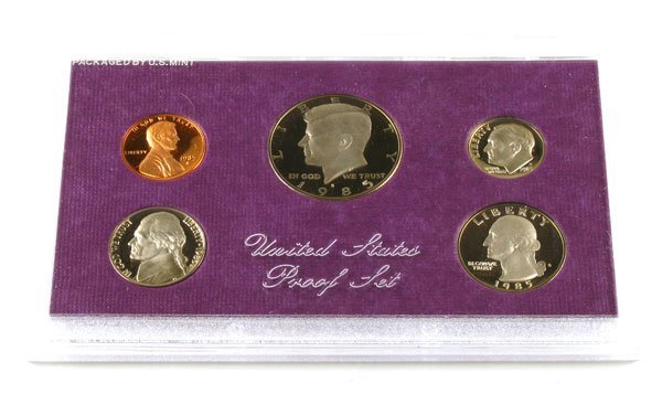 522: 1985 US Proof Set  Coin, Investment Potential