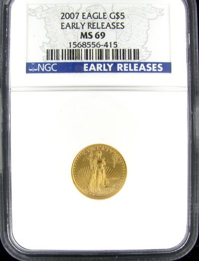 534: 2007 $5 US Eagle Gold Coin, Investment Potential