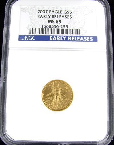 222: 2007 $5 US Eagle Gold Coin, Investment Potential