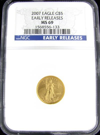 33: 2007 $5 American Eagle Gold Coin, Investment Potent