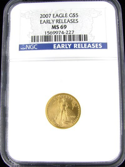 157: 2007 $5 US Eagle Gold Coin, Investment Potential