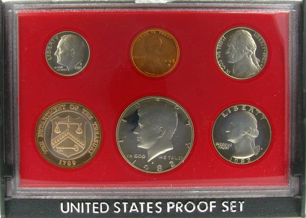 3032: 1982 US Proof Set Coin