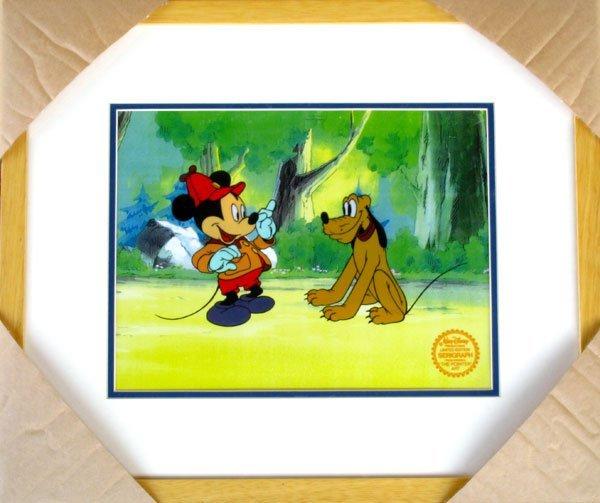 1486: Limited Edition Walt Disney Mickey and Pluto Seri