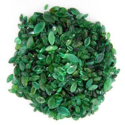 1494: RRV APP: $6.4k 80.24CT Faceted Marq. Cut Emerald