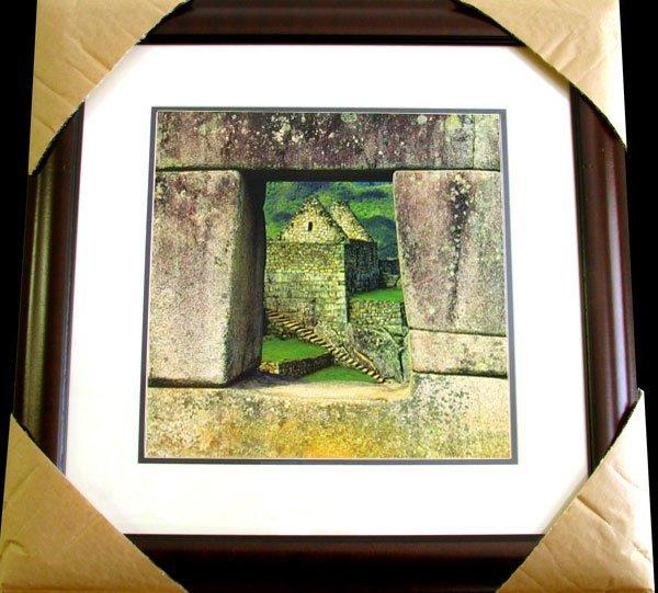 1506: MICHAEL SEEWALD Window-Machu Picchu-Peru