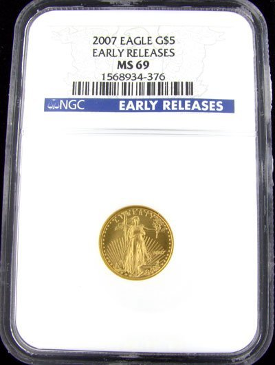 7: 2007 $5 US Eagle Gold Coin, Investment Potential