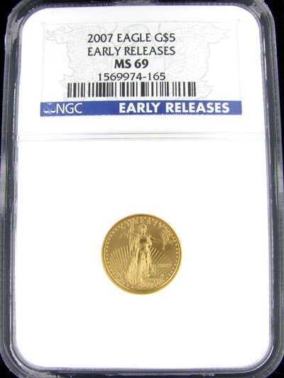 4506: 2007 $5 American Eagle Gold Coin - Potential Inve