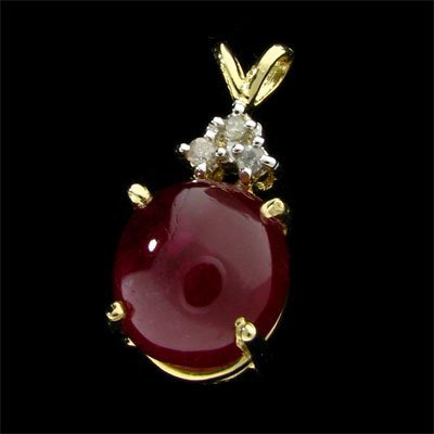 4513: RRV, APP: $20.6k 14 kt. Gold, 9.90CT Ruby and Dia