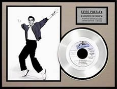 4534: 'Jailhouse Rock'' Platinum Record, Fan Favorite