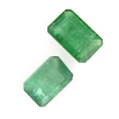 4851: RRV, APP: $7k 10.71CT Rectagular Emerald Parcel