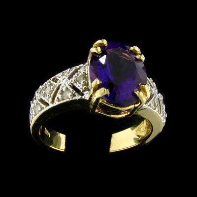 238: RRV APP: 1.6k 14 kt. Gold, 2.54CT Amethyst Ring