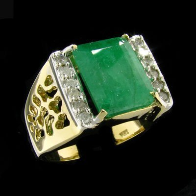 1504: RRV APP:$16.2k 14 kt. Gold, 6.56CT Ruby Ring