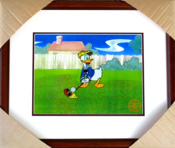 1722: Limited Edition Walt Disney Donald Duck Serigraph