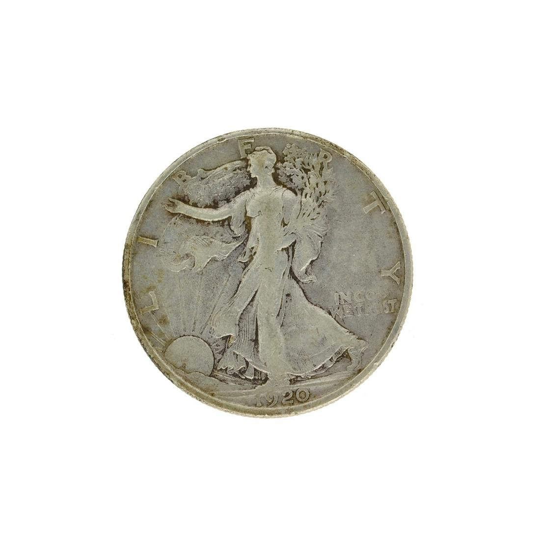 1920-S Walker Half Dollar Coin