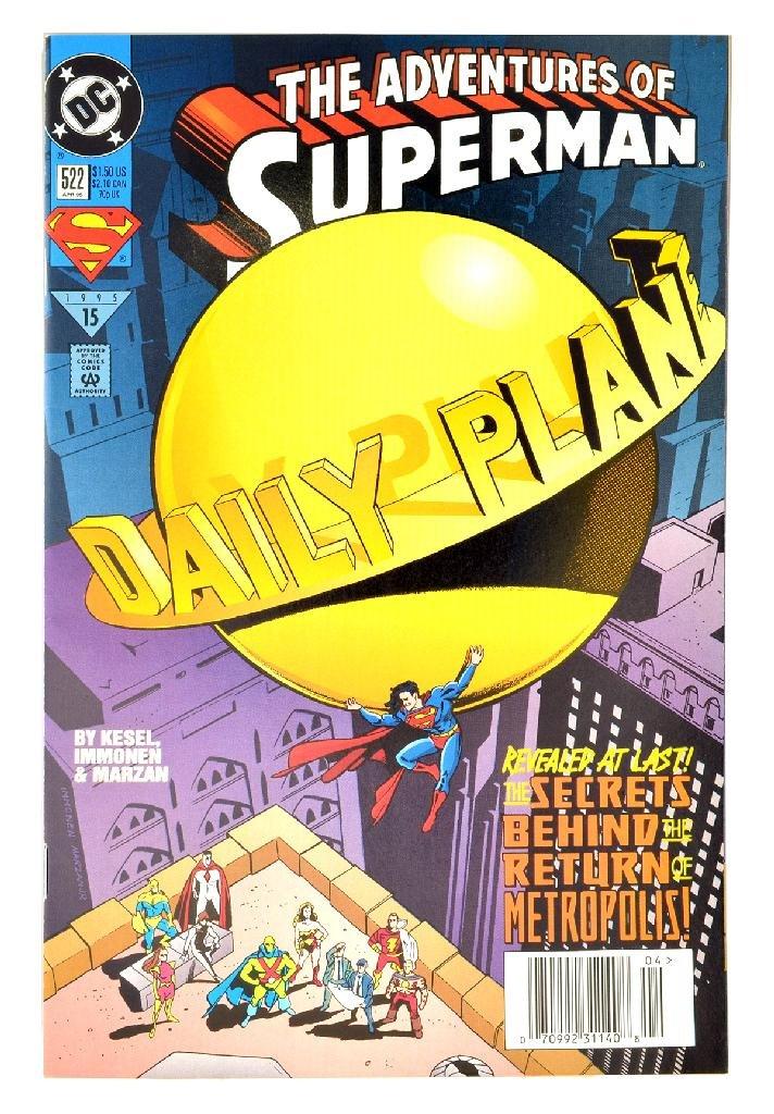Adventures of Superman (1987) Issue #522
