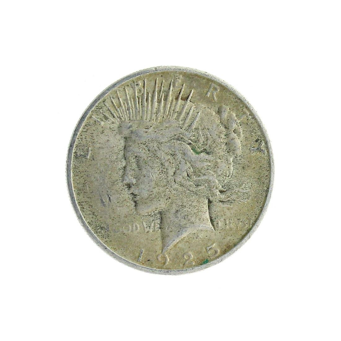 Extremely Rare 1925-S U.S. Peace Type Silver Dollar