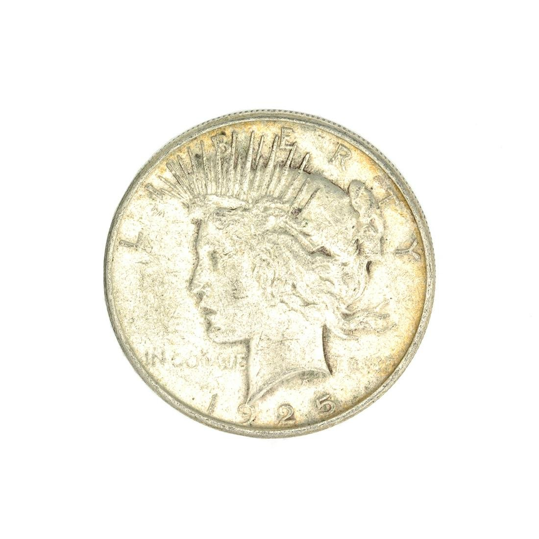 1925-S U.S. Peace Type Silver Dollar Coin