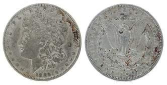 Rare 1889-O U.S. Morgan Silver Dollar Coin - Great
