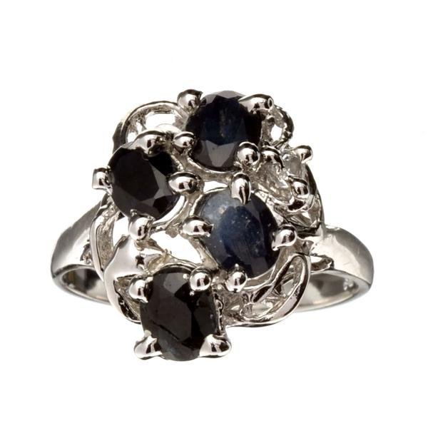 Fine Jewelry Designer Sebastian 1.80CT Blue Sapphire