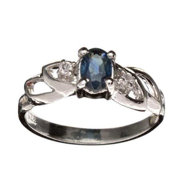 APP: 0.6k Fine Jewelry Designer Sebastian 0.50CT Blue