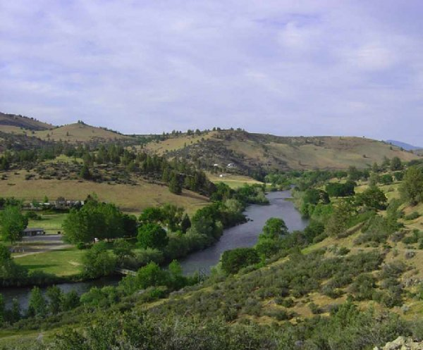 614: GOV: CA LAND, 1.03 AC., NEAR KLAMATH RIVER INVEST-