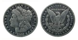 Rare 1900-O U.S. Morgan Silver Dollar Coin - Great