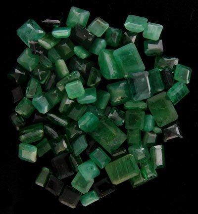 2716: APP: 4k 50.45CT Square Emerald Parcel-Investment