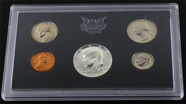 2718: 1969 U.S. Proof Set Coin-Investment Potential