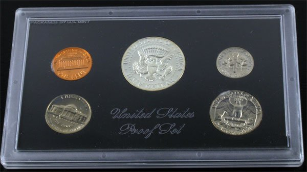 2718: 1969 U.S. Proof Set Coin-Investment Potential - 2