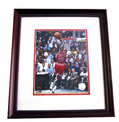 2740: Framed Sports Memorabilia