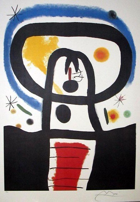 1: JOAN MIRO Equinox Print-Limited Edition