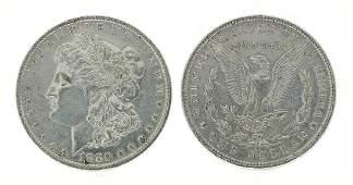 Rare 1880O US Morgan Silver Dollar Coin  Great