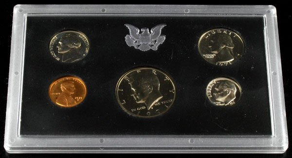 1004: 1971 U.S. Proof Set Coin-Investment Potential