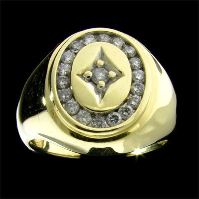 3084: APP: 2.8k 14 kt. Gold, 0.50CT Diamond Ring