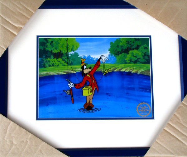 1: Limited Edition Walt Disney Goofy Serigraph