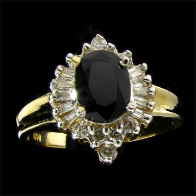5: APP: 3.5k 14 kt. Gold, 1.10CT Sapphire and Diamond R