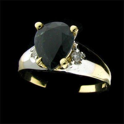 1: APP: 2.1k 14 kt. Gold, 2.00CT Sapphire and Diamond R