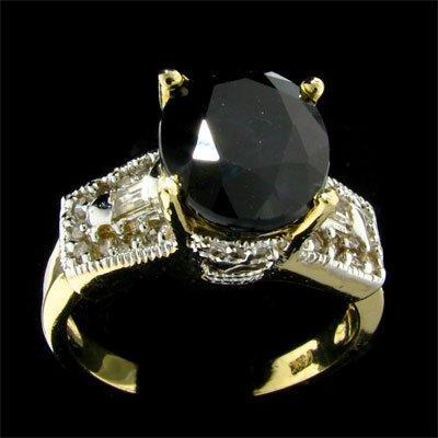 7: APP: 4.7k 14 kt. Gold, 4.30CT Sapphire and Diamond R