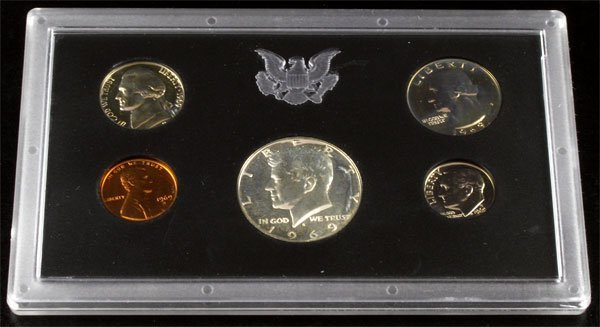 37: 1969 U.S. Proof Set Coin-Investment Potential