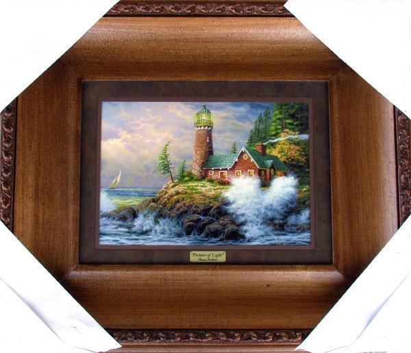 41: THOMAS KINKADE Thomas Kinkade, Museum Framed Calend