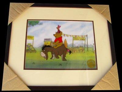 17: Limited Edition Walt Disney Winnie The Pooh Serigra