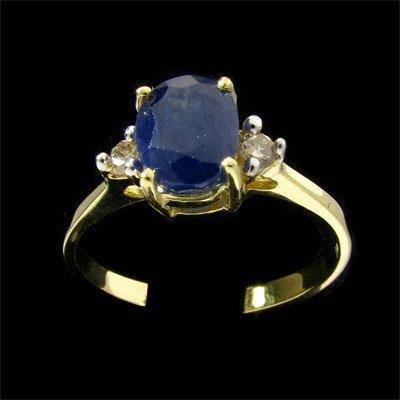 5: APP: 1.3k 14 kt. Gold, 1.91CT Sapphire and Diamond R